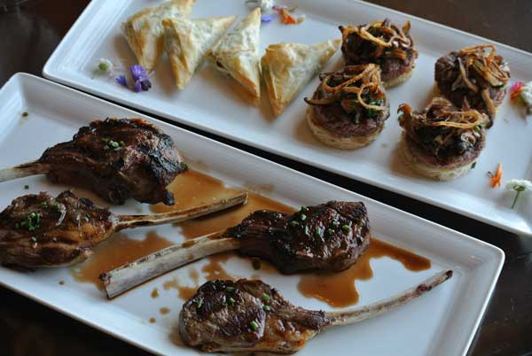 Baby Lamb Chops are classic fare that your guests may or may not be familiar with. Give them a chance to try something you love by including in the cocktail hour, along side of more familiar items such as filet medallions and puff pastries.