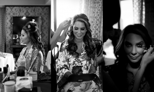 Your Beauty Call was on hand to get Celia camera ready. Photo by www.altf.com.
