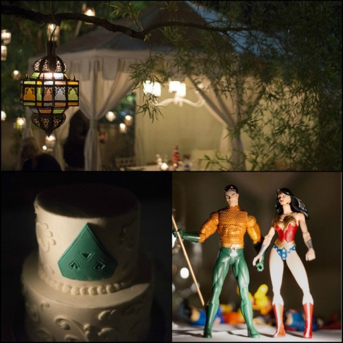 Vintner Grill's twinkling lights and private cabana were the ideal location for Sabrina and Frank's wedding dinner.