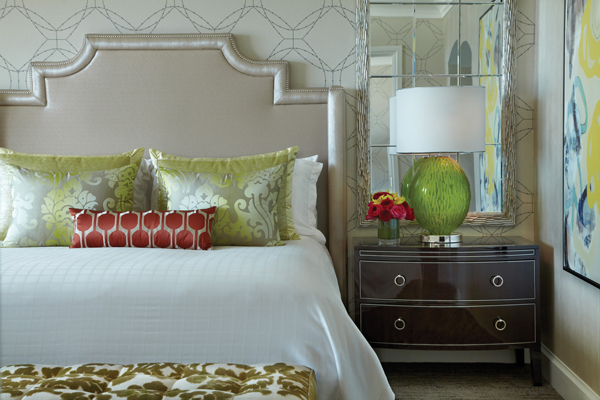 The Four Seasons Las Vegas has recently renovated all of their guest rooms and suites.
