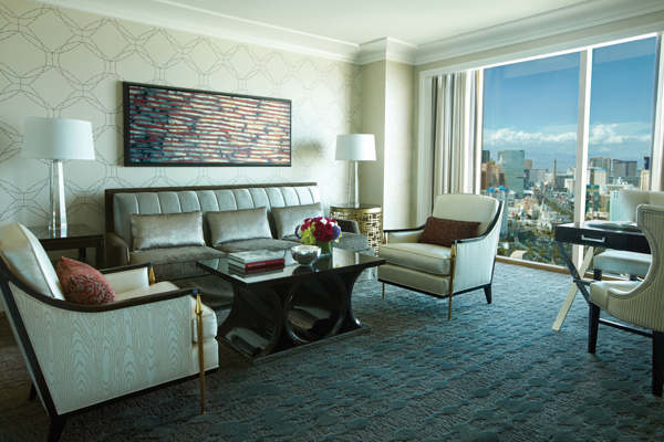 Four Seasons Las Vegas - As for a suite with a view of the Las Vegas Strip.