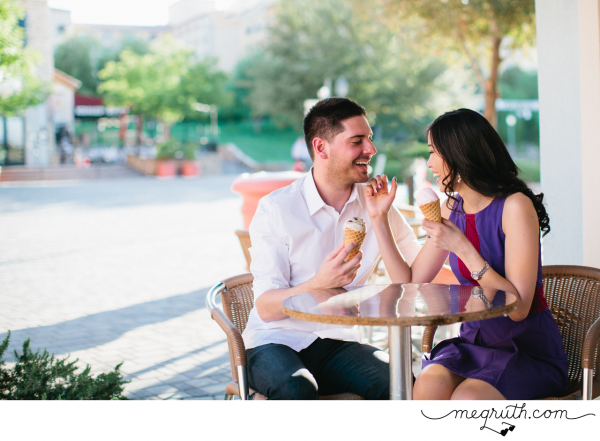 real couple engagement photos Lake las vegas