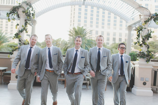 The new wolf pack! The groom was surrounded by his three brothers and his brother-in-law. Nicest group of guys you'd ever want to meet! Photo by Adam Trujillo.