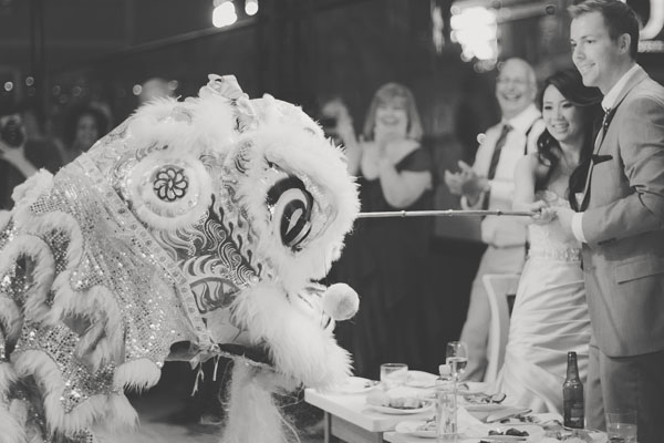 Chinese Lion Dancers – Such a special part of the evening! Photo by Adam Trujillo.