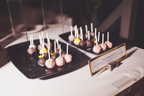 These were just sweet enough touch for those guests craving cake. Photo by Adam Trujillo.