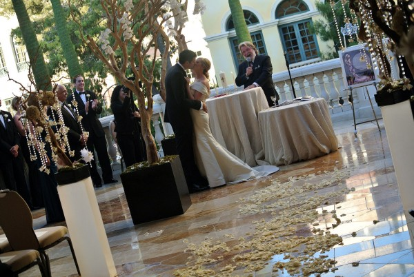 You may kiss the bride! Dr. & Dr. Pugnale! Photo by Andrea Eppolito.