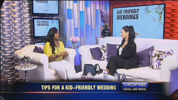 Are you including kids at your wedding? How to accommodate the little ones when they arrive.