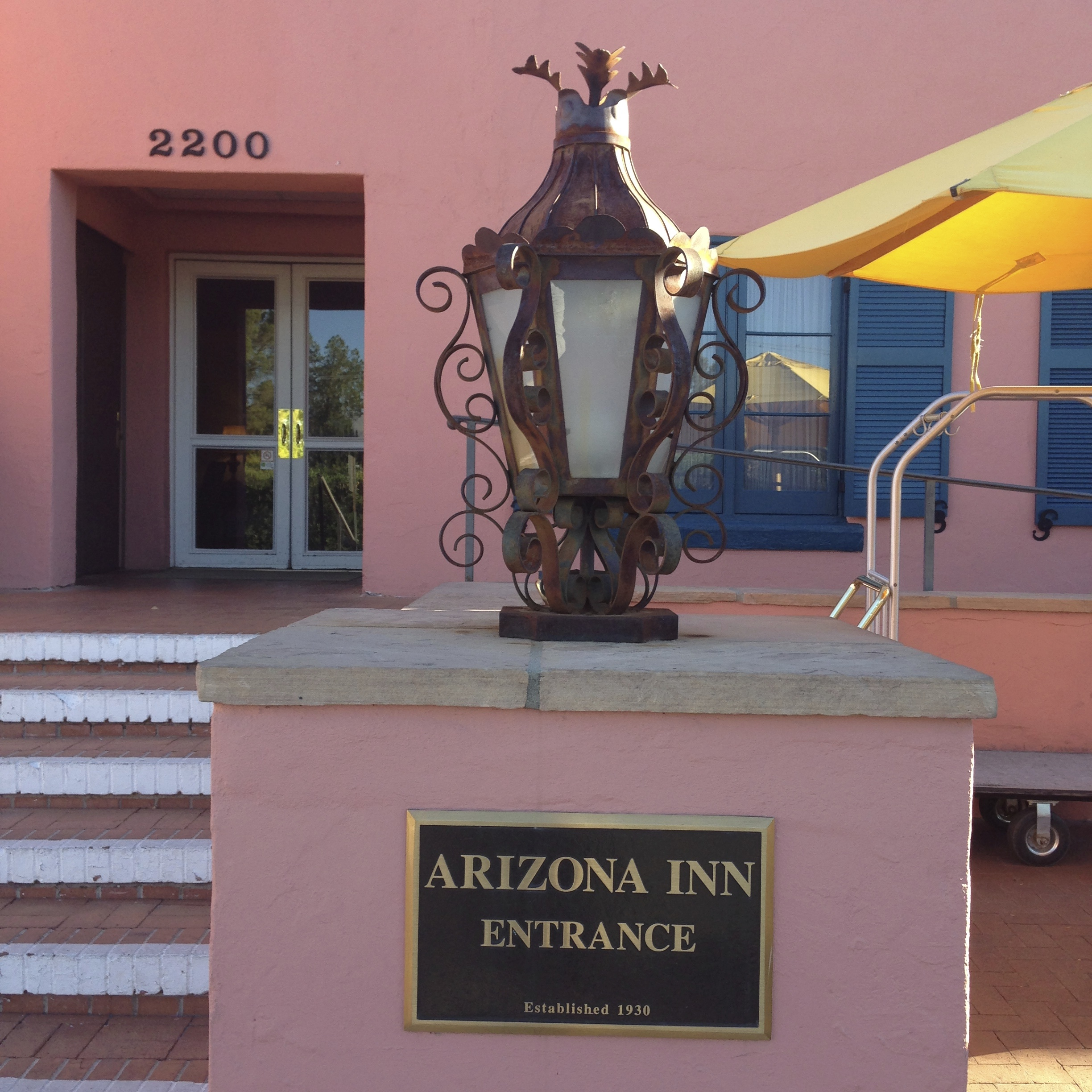 The historic Arizona Inn opened in 1930 and served as a hot spot for celebrities and politicians of the time.