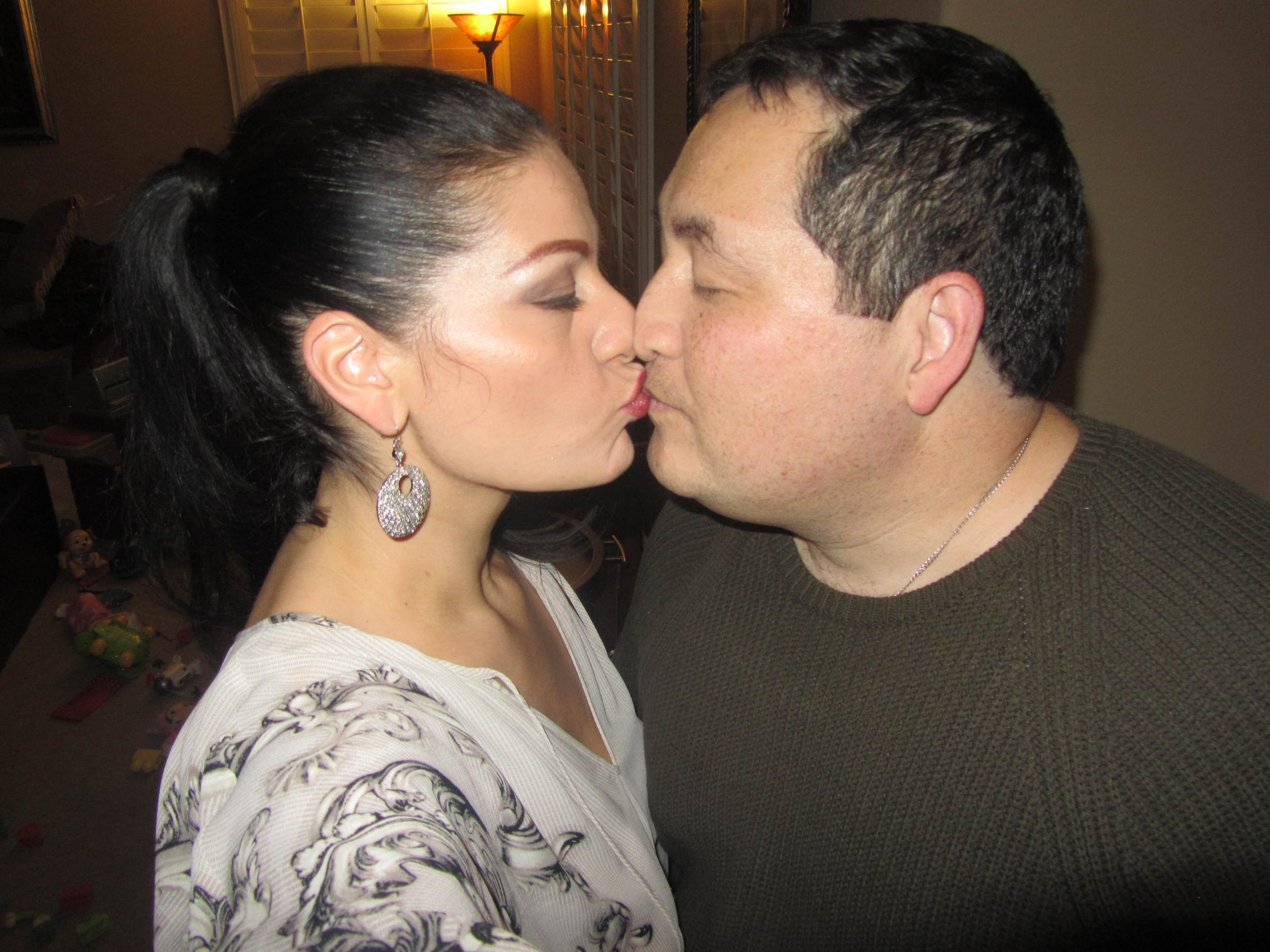 No matter who's wedding I am planning, I always make time to kiss the guy crazy enough to marry me!