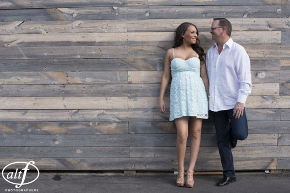 Megan and Alan - Engagement Photos Downtown Las Vegas.