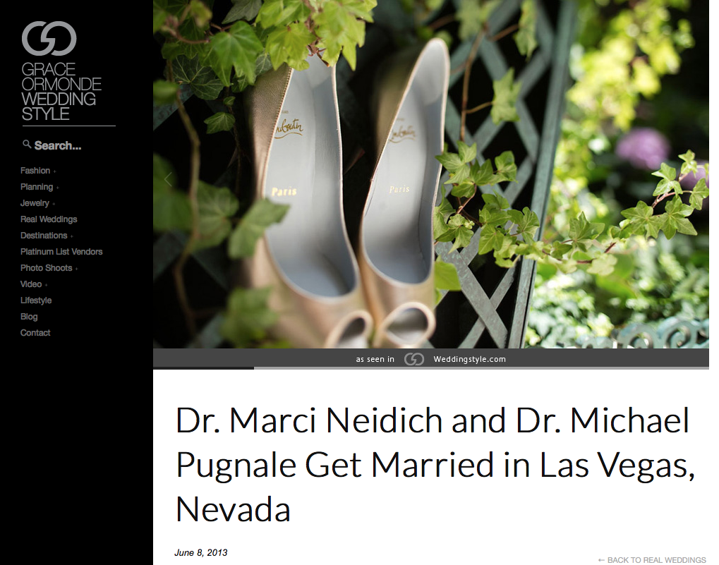 What does it take to get your wedding published on a blog?