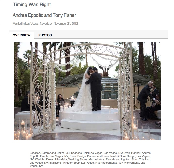 Even my own wedding took nearly 9 months to be published! And look at the list of credits!!! It takes a village to make a wedding...and a blog post...happen!