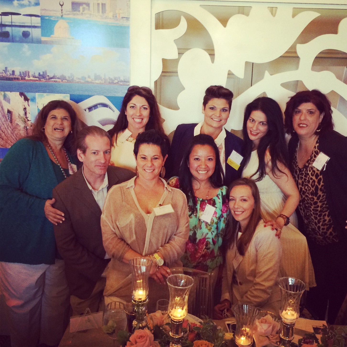 Las Vegas Wedding Planners & Industry Professionals at WIPA, hosted by Shutters on the Beach.