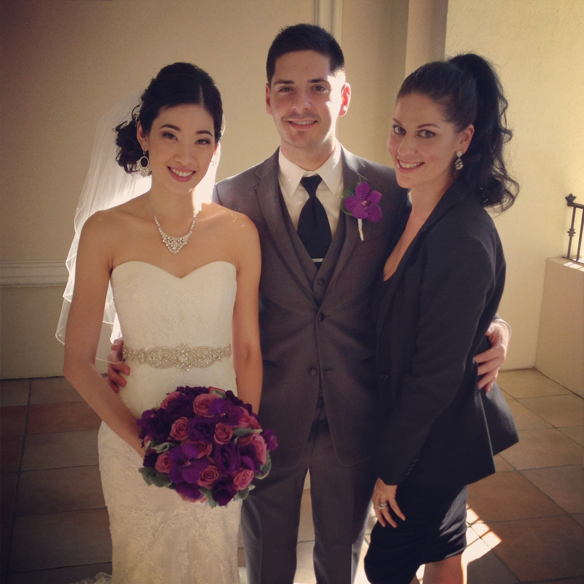 Las Vegas Wedding Planner Andrea Eppolito with Katherine & Jared.