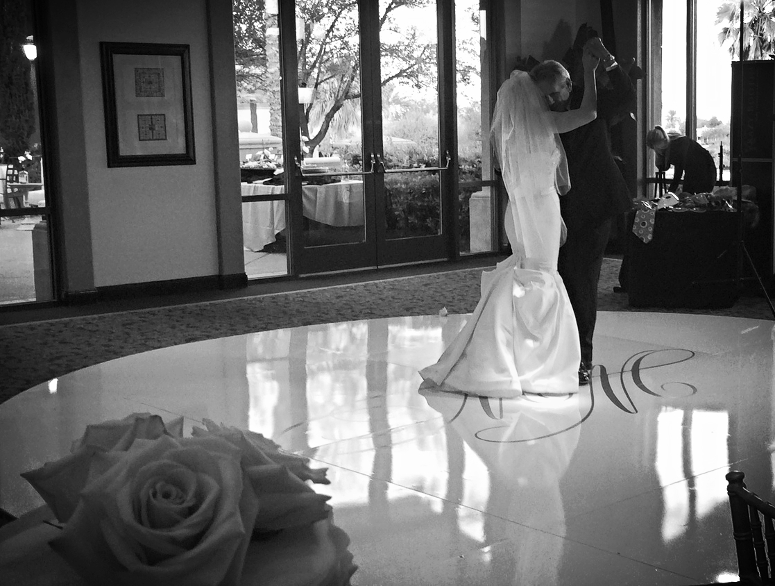 """The Father Daughter Dance to """"I Loved Her First"""".Photo by Andrea Eppolito.  Las Vegas Wedding Planner Andrea Eppolito 