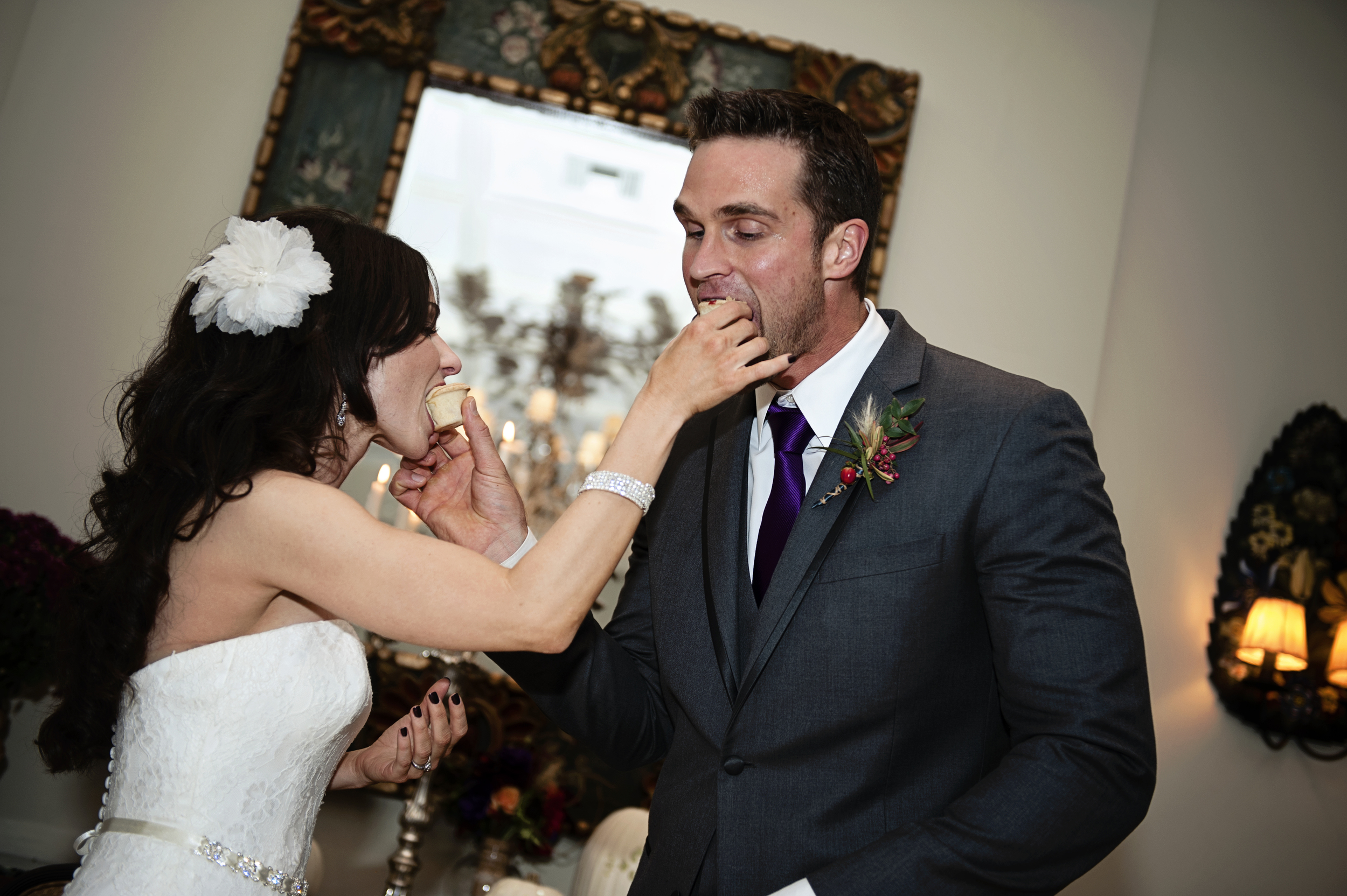 Let them eat pie!    Destination Wedding Planner:   Andrea Eppolito Events   |  Historical Wedding Venue:   The Arizona Inn   |  Photography:  Raylene Streuber