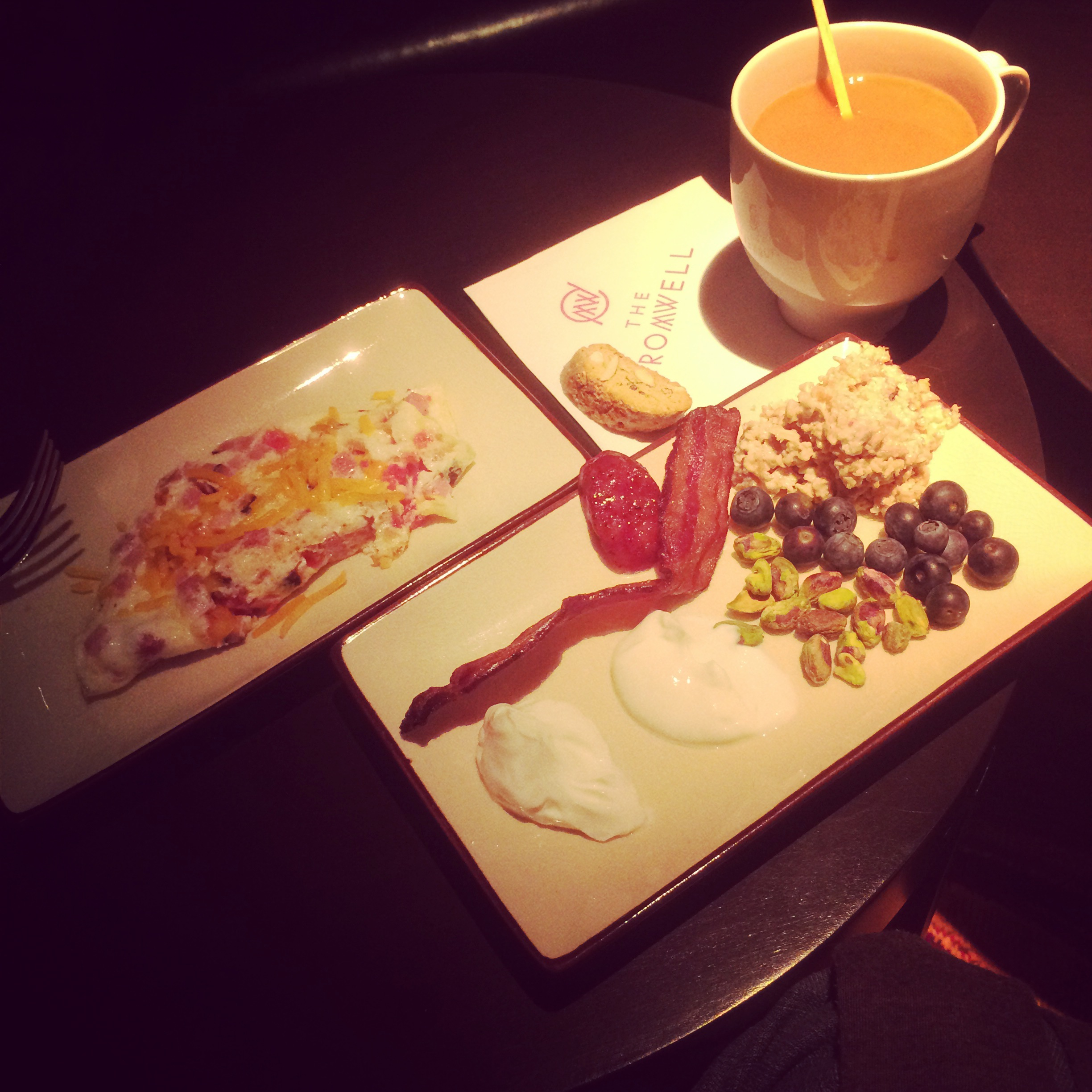 Breakfast done well is one of my favorite meals - The Cromwell's offerings were perfect. I should know....I tried it all!