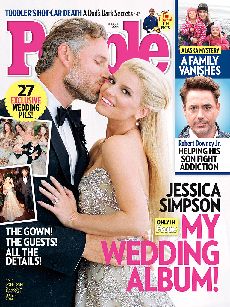 People Magazine's Cover - July 9, 2014