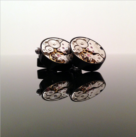 Ethical and Socially Responsible Luxury Cufflinks from  Bond47 .