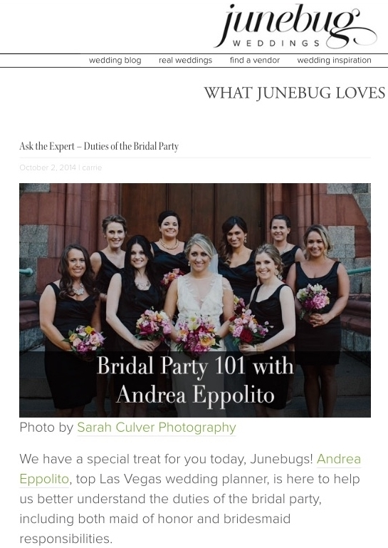 For the rest of the article, visit  Junebug  today!