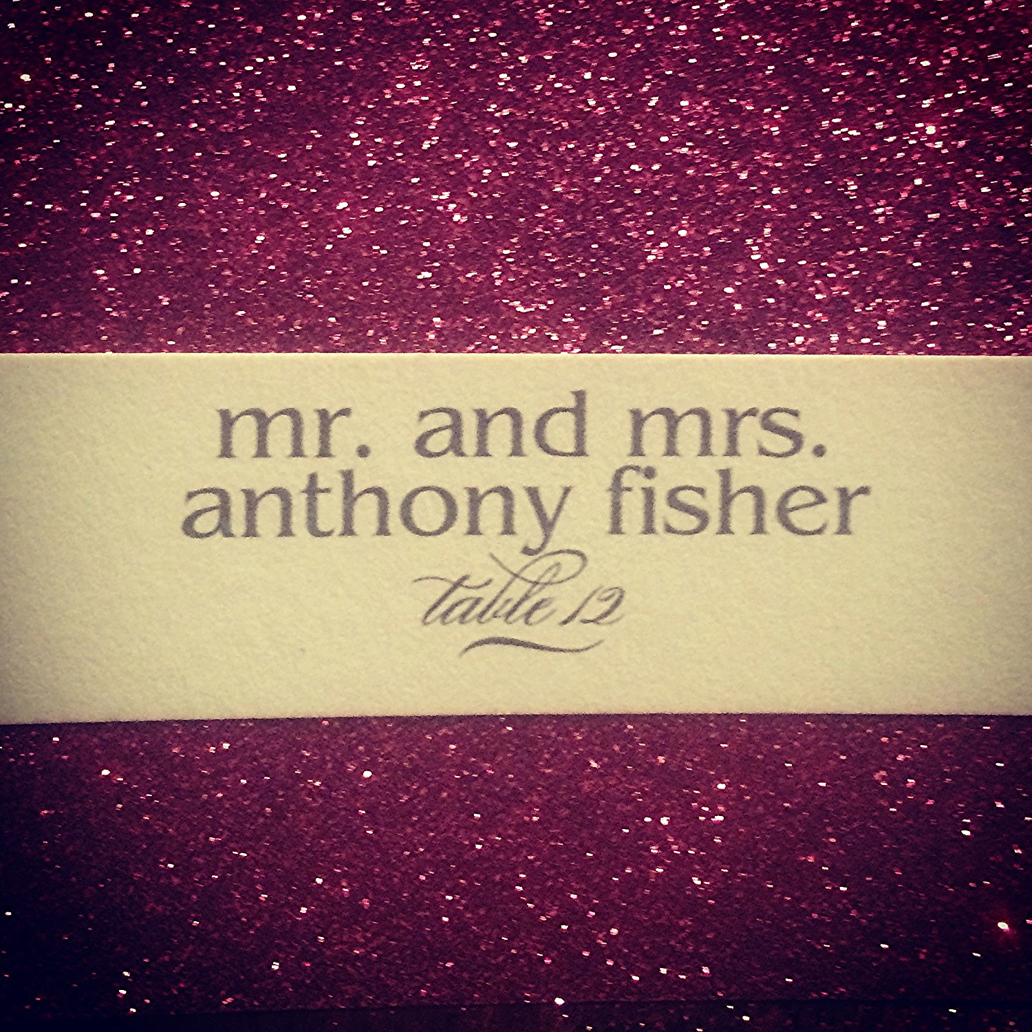 I love being Mrs. Anthony Fisher in my personal life!   Destination Wedding Planner Chicago & Las Veags:  Andrea Eppolito