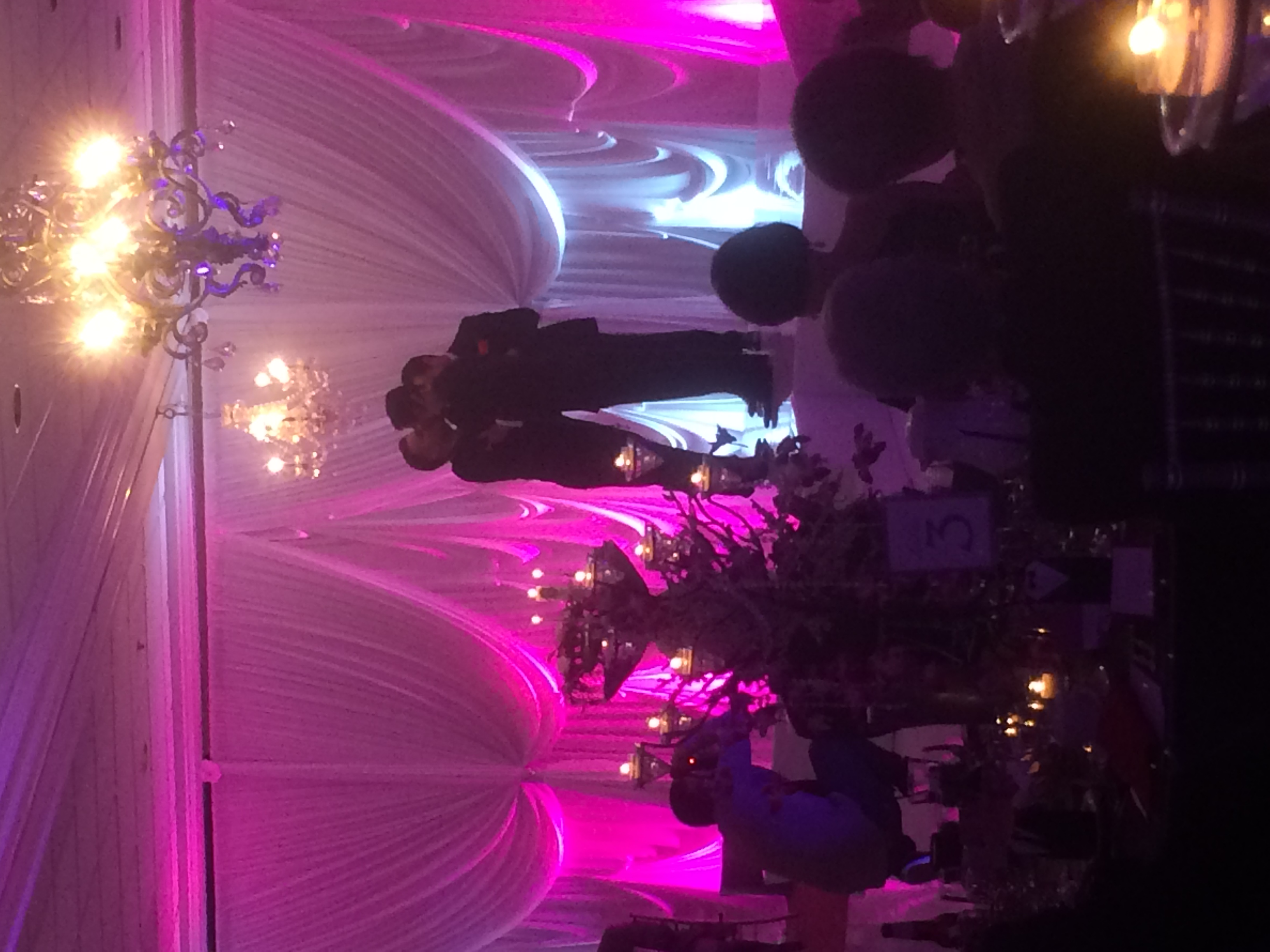 The First Kiss - The guests went wild and the room was filled with nothing but love.   Destination Wedding Planner Chicago & Las Veags:  Andrea Eppolito