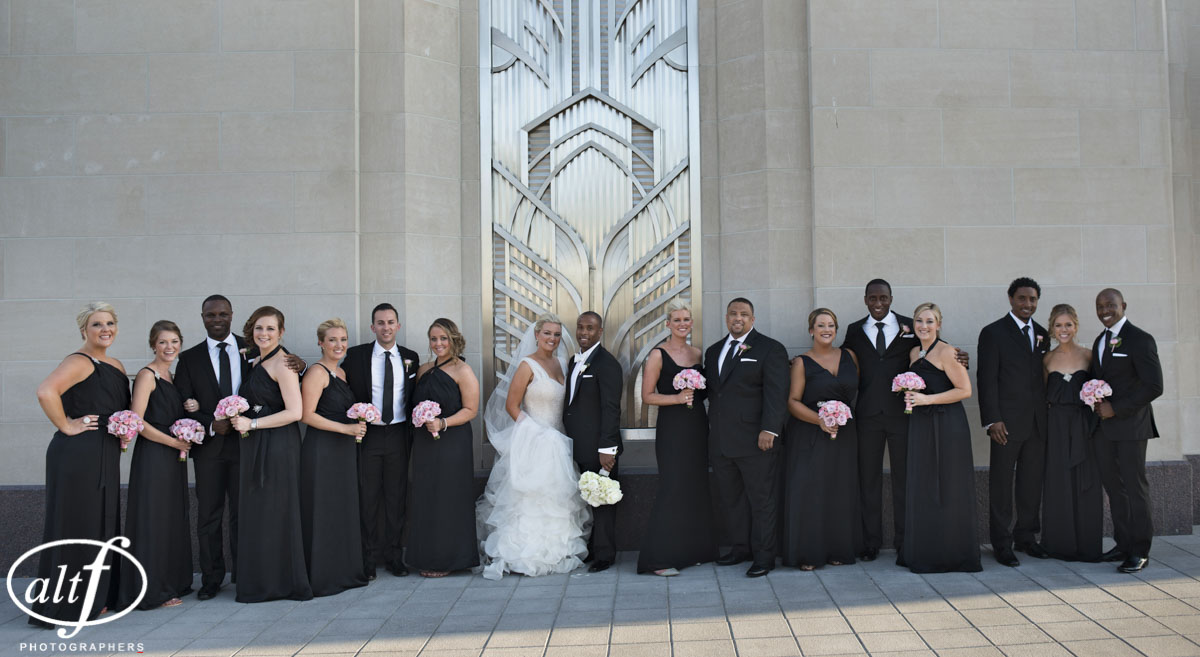 Bridal Party Photo at The Smith Center.