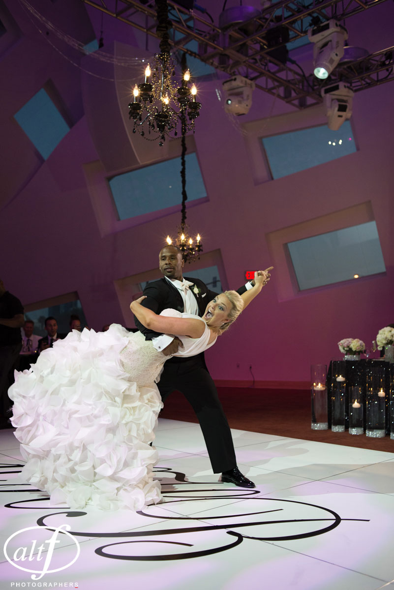 """Choreographed first dance to Justin Timberlake's """"Mirrors"""" was fantastic. Best Wedding Planner Las Vegas according to brides."""