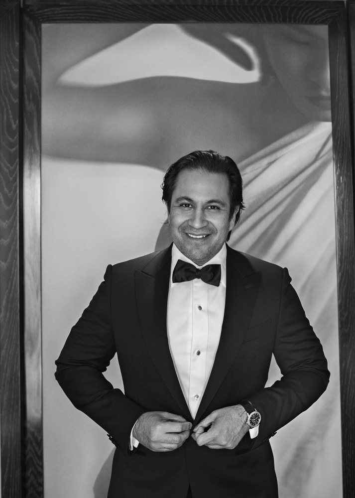 The fit and feel of a custom made tuxedo are transformative. Juan Graham. September 2014.   Las Vegas Wedding Planner Andrea Eppolito    Photo by  www.alf.com