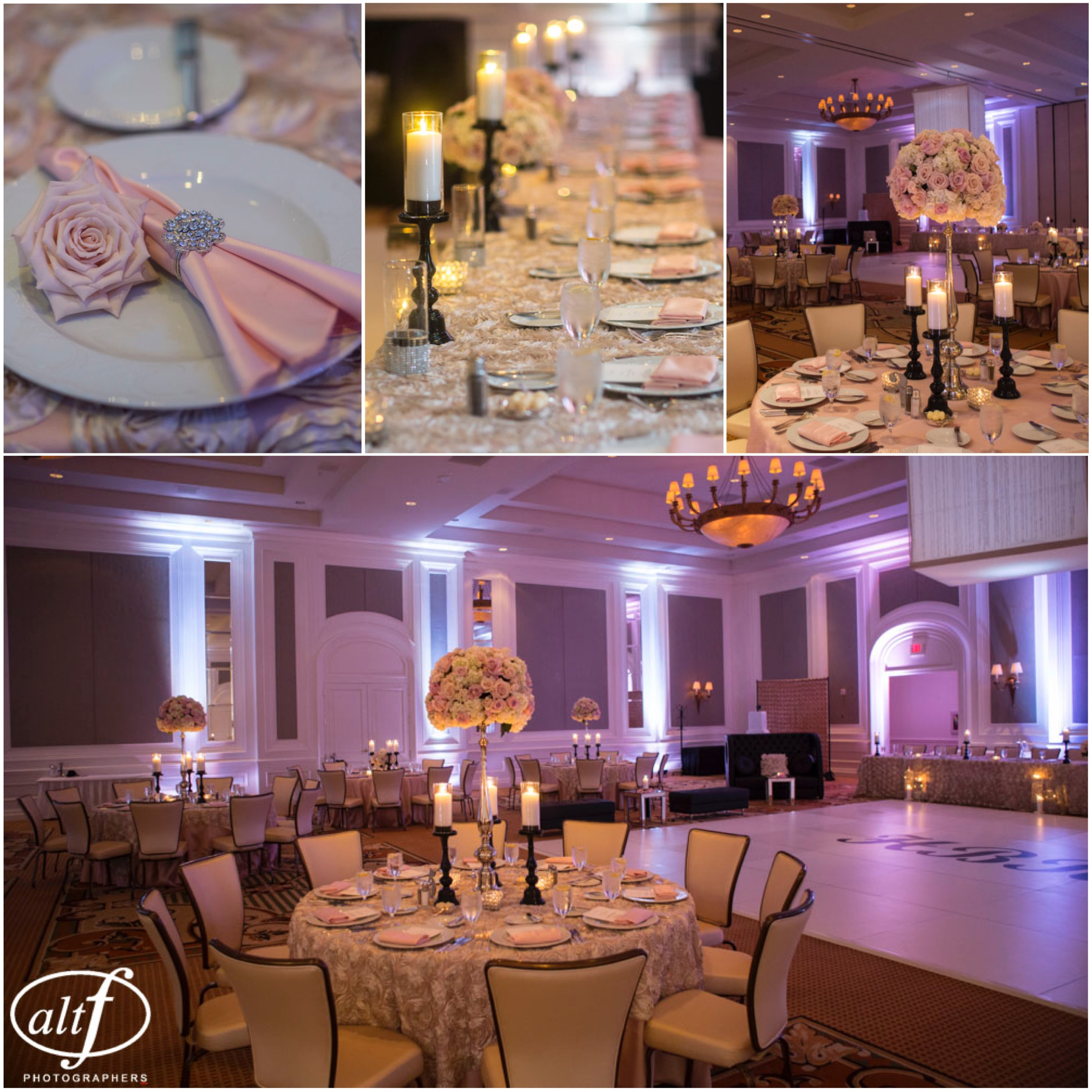 Wedding decor by Naakiti Floral at The Four Seasons Las Vegas.  Las Vegas Wedding Planner Andrea Eppolito