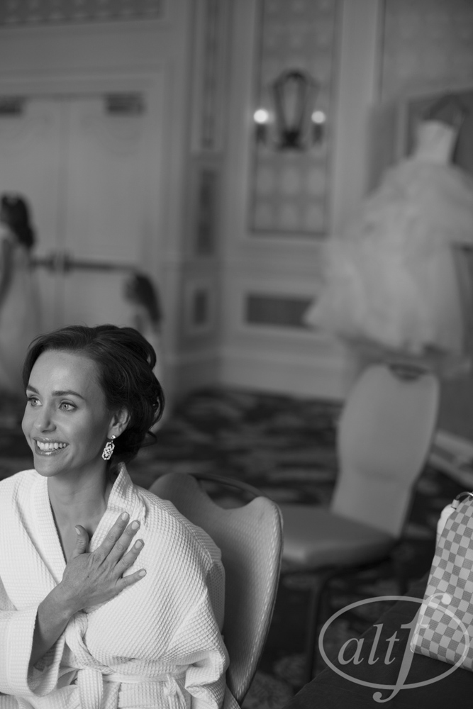 The bride's excitement.  Rebecca and Ross.  October 2014.  Photo by  Alt F Photography .  Best Wedding Photos of the Year 2014.