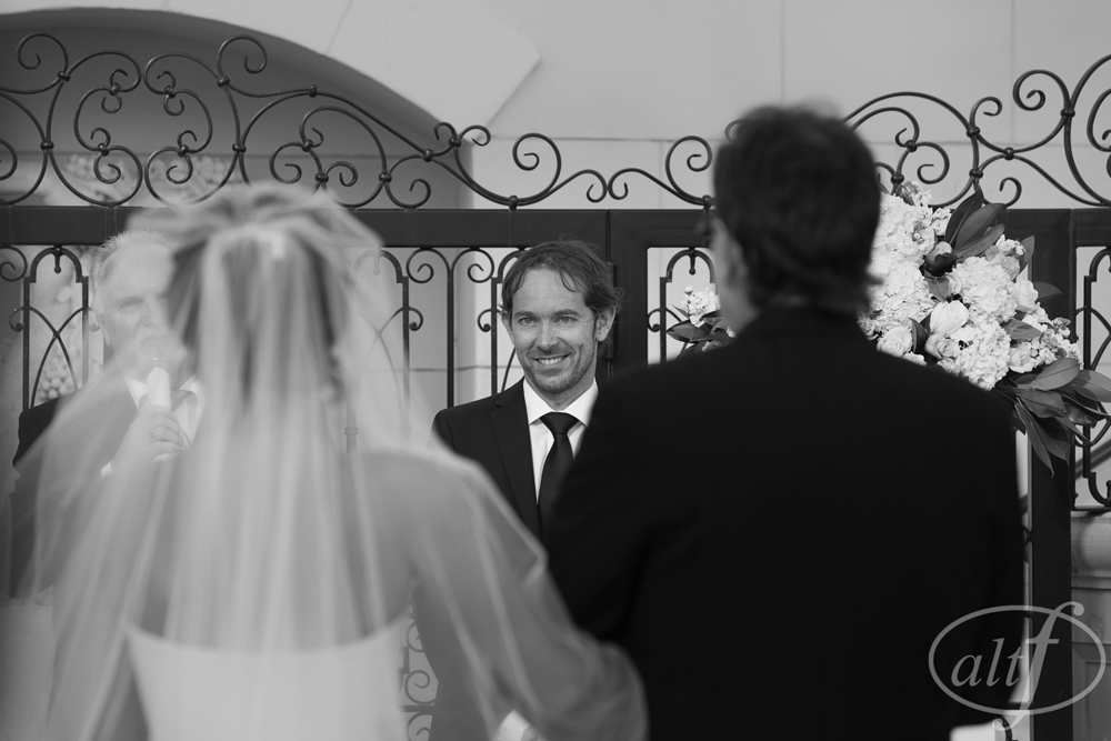 The groom's face.   Rebecca and Ross.  October 2014.  Photo by  Alt F Photography .  Best Wedding Photos of the Year 2014.