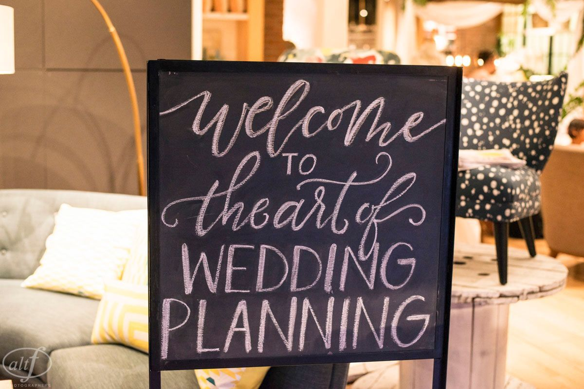 The Art of Wedding Planning at West Elm.