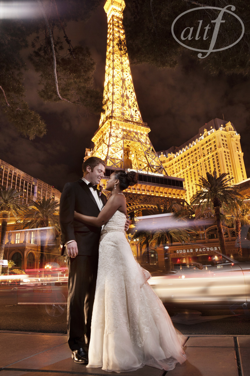 Kaitrin & Jason hosted their wedding at The Bellagio on March 9, 2013.    Las Vegas Wedding Planner Andrea Eppolito   Wedding at Bellagio   Photo by  Alt F