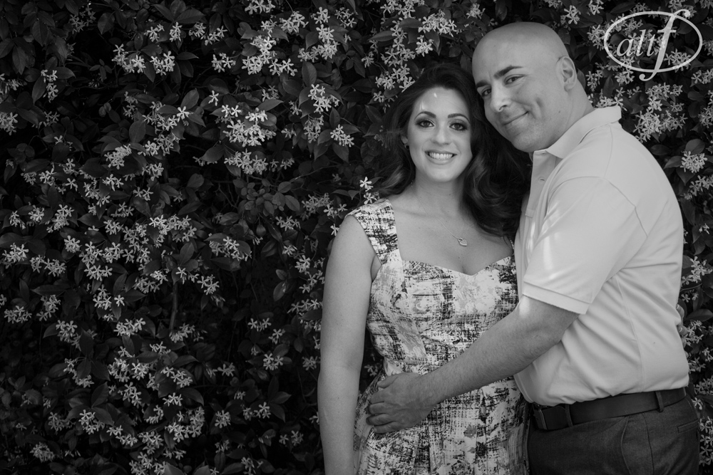 Crystal and Rob are planning a fun, personal Las Vegas wedding at The Palms this Fall. Engagement Photo by Altf Photography. Hair and Make Up by Your Beauty Call.