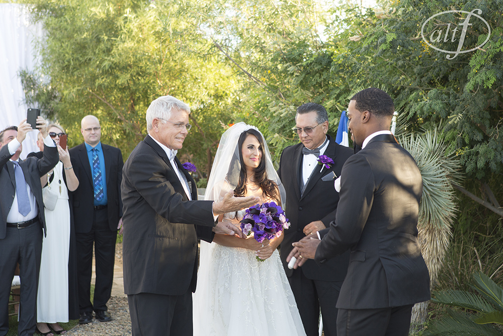 My two dad's.   Las Vegas Wedding Planner Andrea Eppolito. Image by Altf.com.