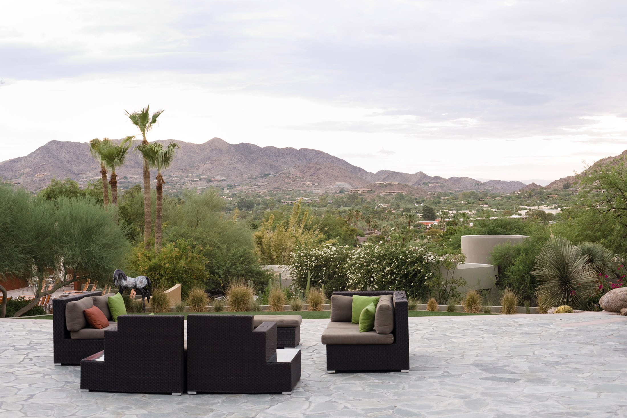Luxury Destination Weddings in Scottsdale at the Camelback Sanctuary.