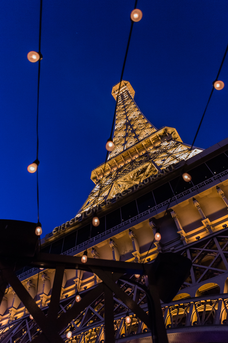 he Paris Las Vegas Eiffel Tower.  We wanted a dusty feel and a clean color palette of ivory, gold, and black.  Designed by Las Vegas Wedding Planner Andrea Eppolito • Decor by Dzign • Photo by Stephen Salazar