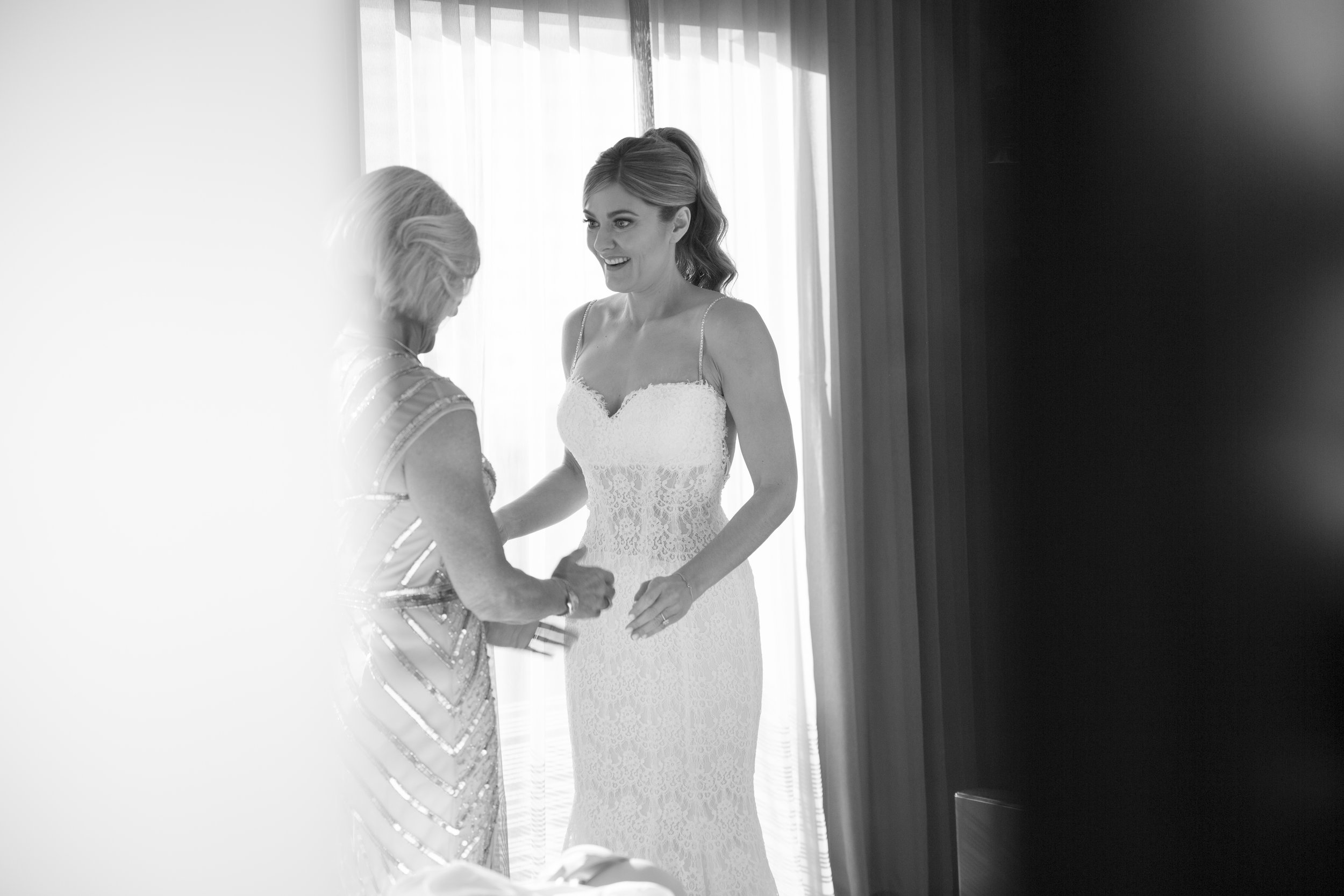 Mother Daughter Moment. Getting Ready. Image by AltF.