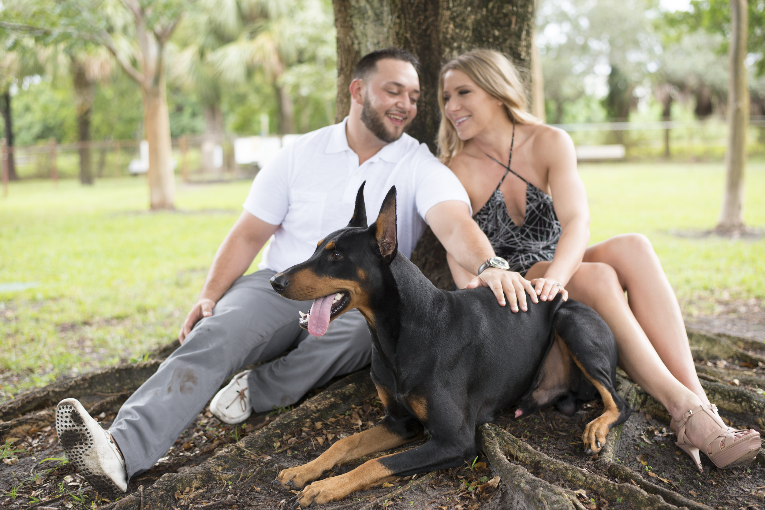 Engagement photos in Florida. Las Vegas Wedding Planner Andrea Eppolito. Image by AltF Photography.