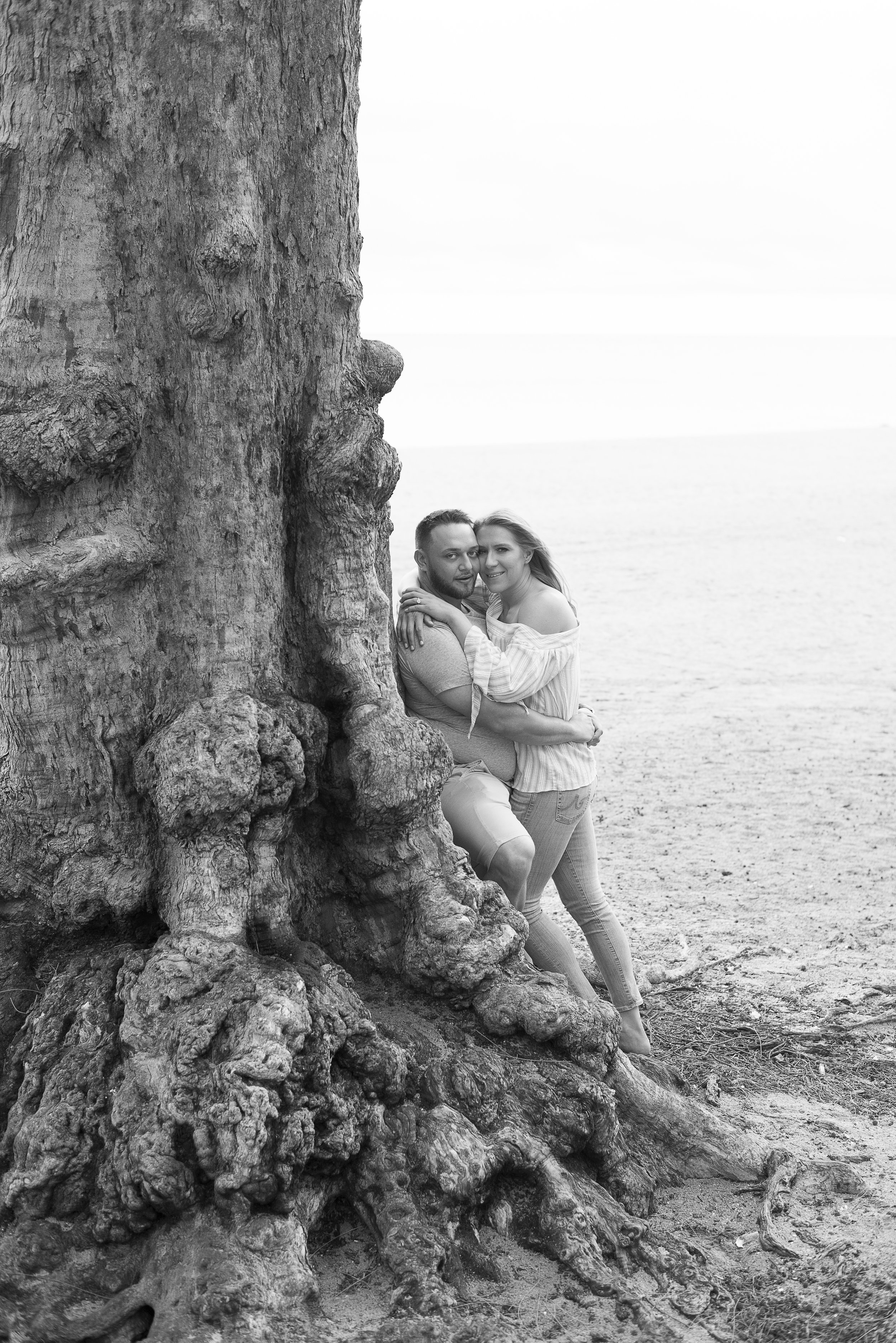 Beach side engagement photos.Engagement photos in Florida. Las Vegas Wedding Planner Andrea Eppolito. Image by AltF Photography.