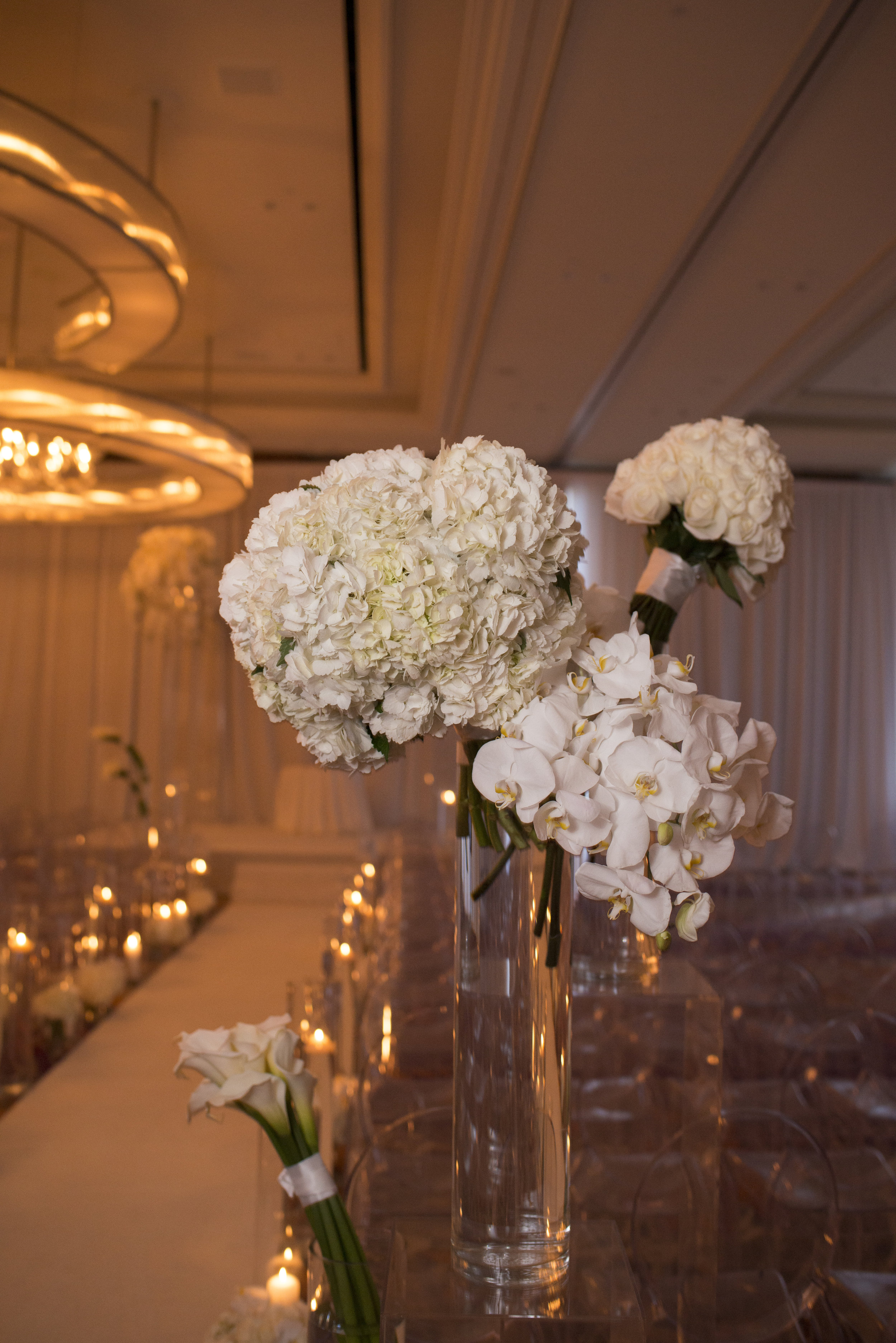 ivory wedding at the mandarin oriental. WEDDING PLANNING & EVENT DESIGN • Andrea Eppolito Events ,PHOTOGRAPHY • AltF Photography ,FLORAL AND DECOR DESIGN & PRODUCTION • Destinations by Design , CATERING • Mandarin Oriental Las Vegas , COCKTAILS •  The Grand Bevy , WEDDING GOWN •  Galia Lahav ,SHOES •  Jimmy Choo