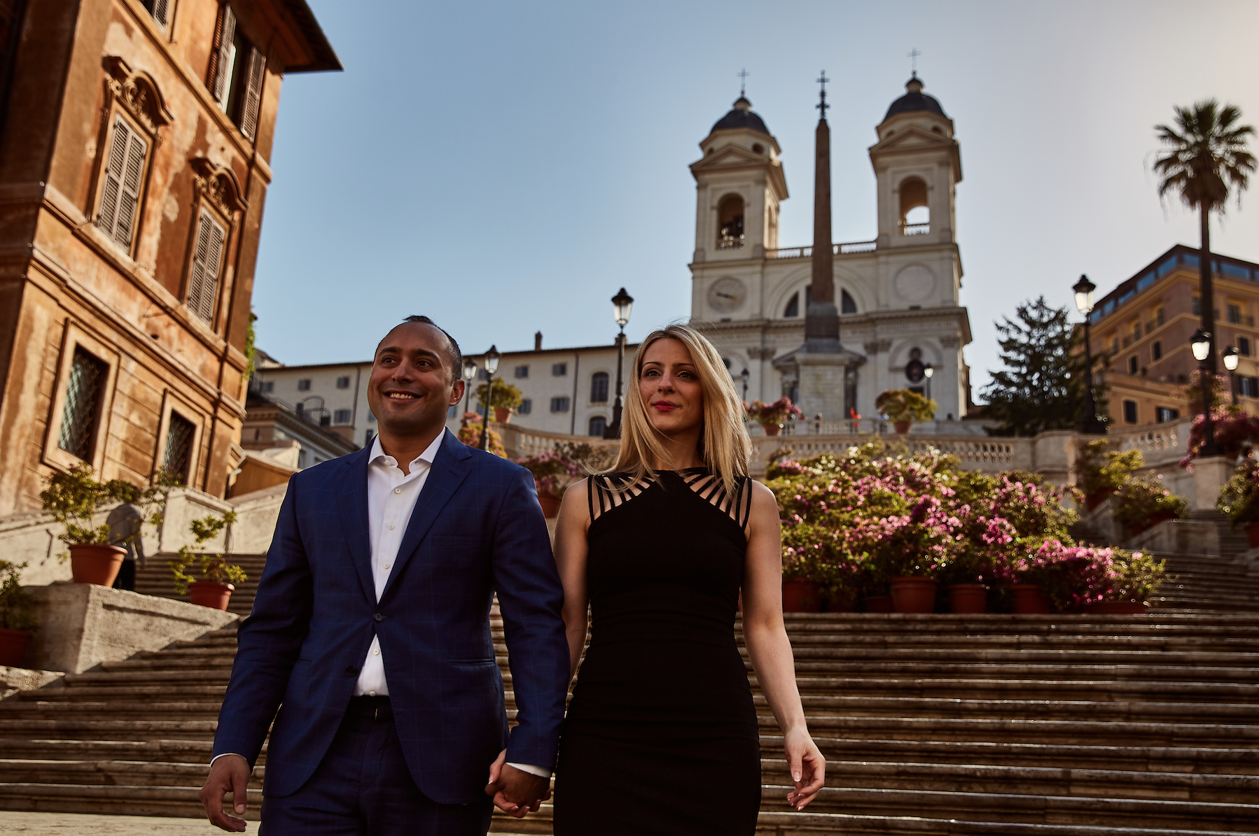What to wear to your engagemnt photos.  Destination wedding planner Andrea Eppolito. Engagement photos in Italy.  Italian Imagery by  D2 Photography .