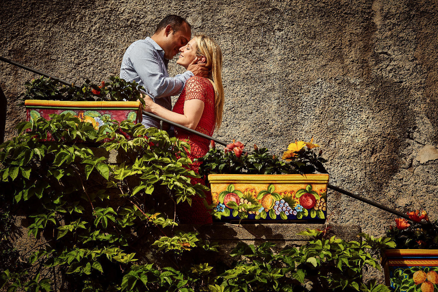 Vintage engagement photos in Italy. Destination wedding planner Andrea Eppolito. Engagement photos in Italy.  Italian Imagery by  D2 Photography .