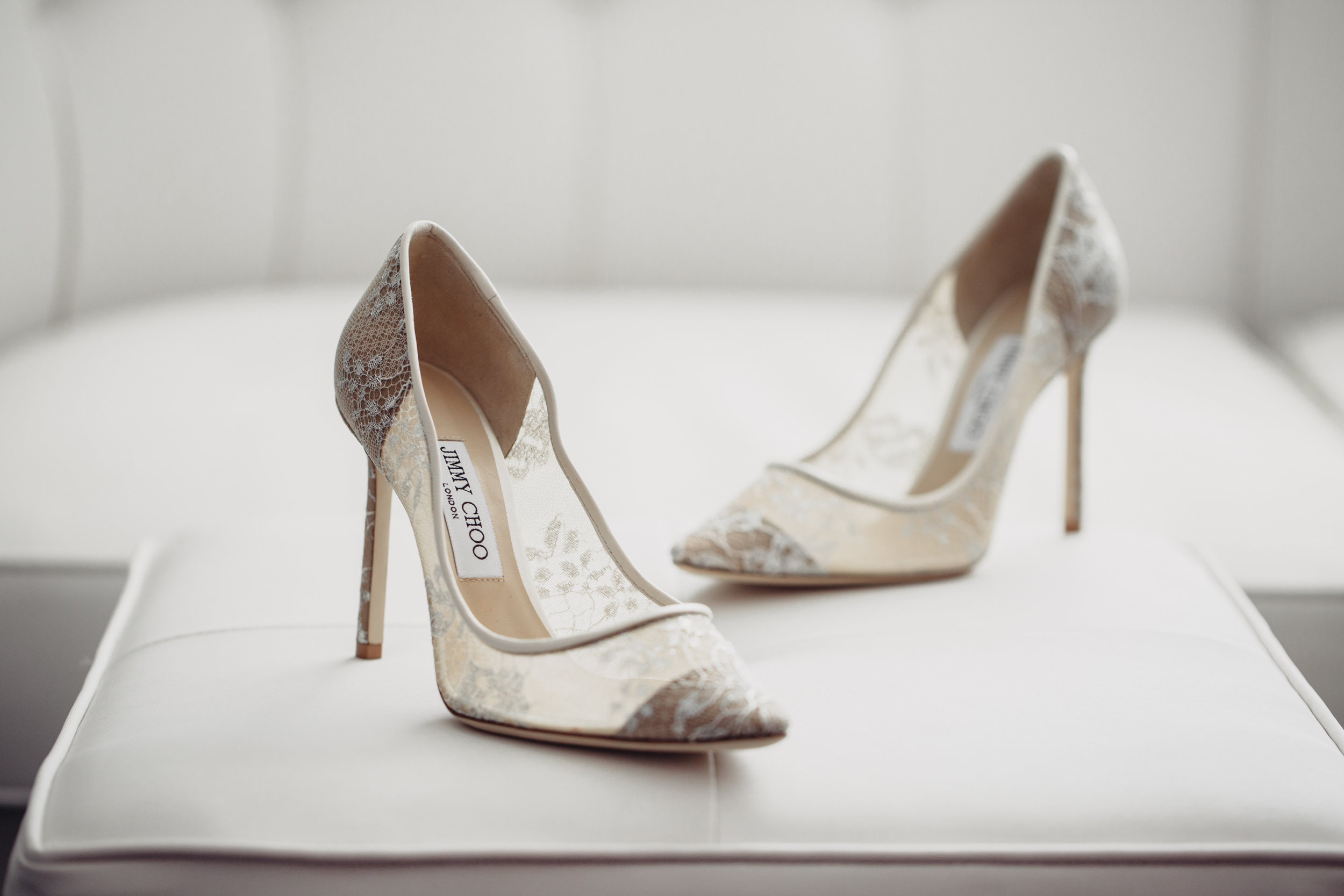 Luxury Destination Wedding Planning and Event Design by  Andrea Eppolito Events  · Photos by  Stephen Salazar  · Shoes by  Jimmy Choo