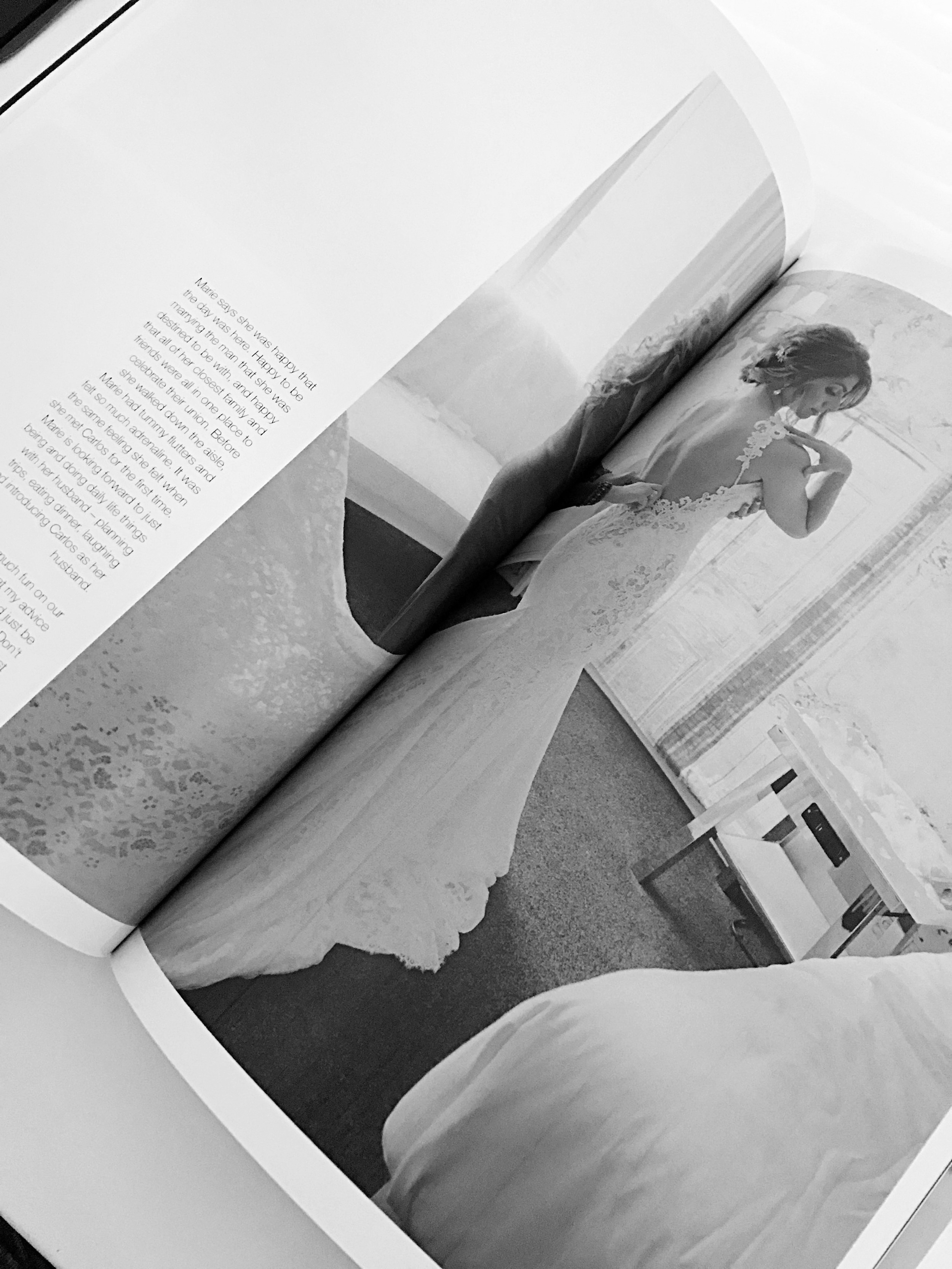 Get your own personalized, chic wedding magazine in print and online: www.weddingeditorialist.com