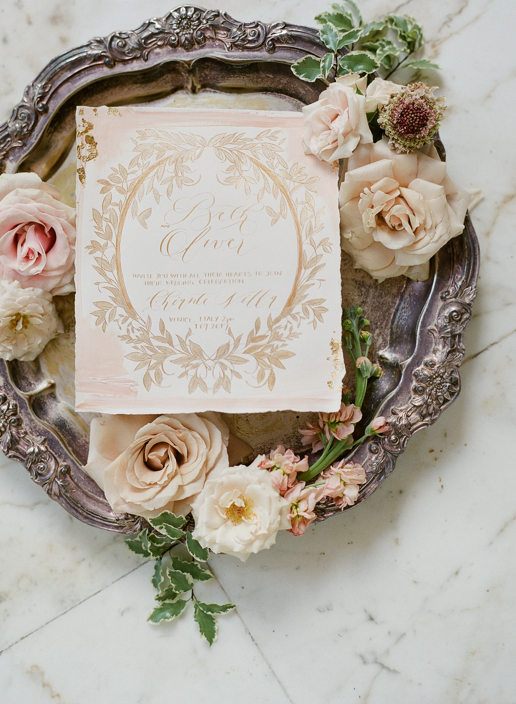 Wedding Stationery Created by Crimson Letters. Las Vegas Wedding Planner www.AndreaEppolitoEvents.com. Photo by Vizcaya Koby Brown.