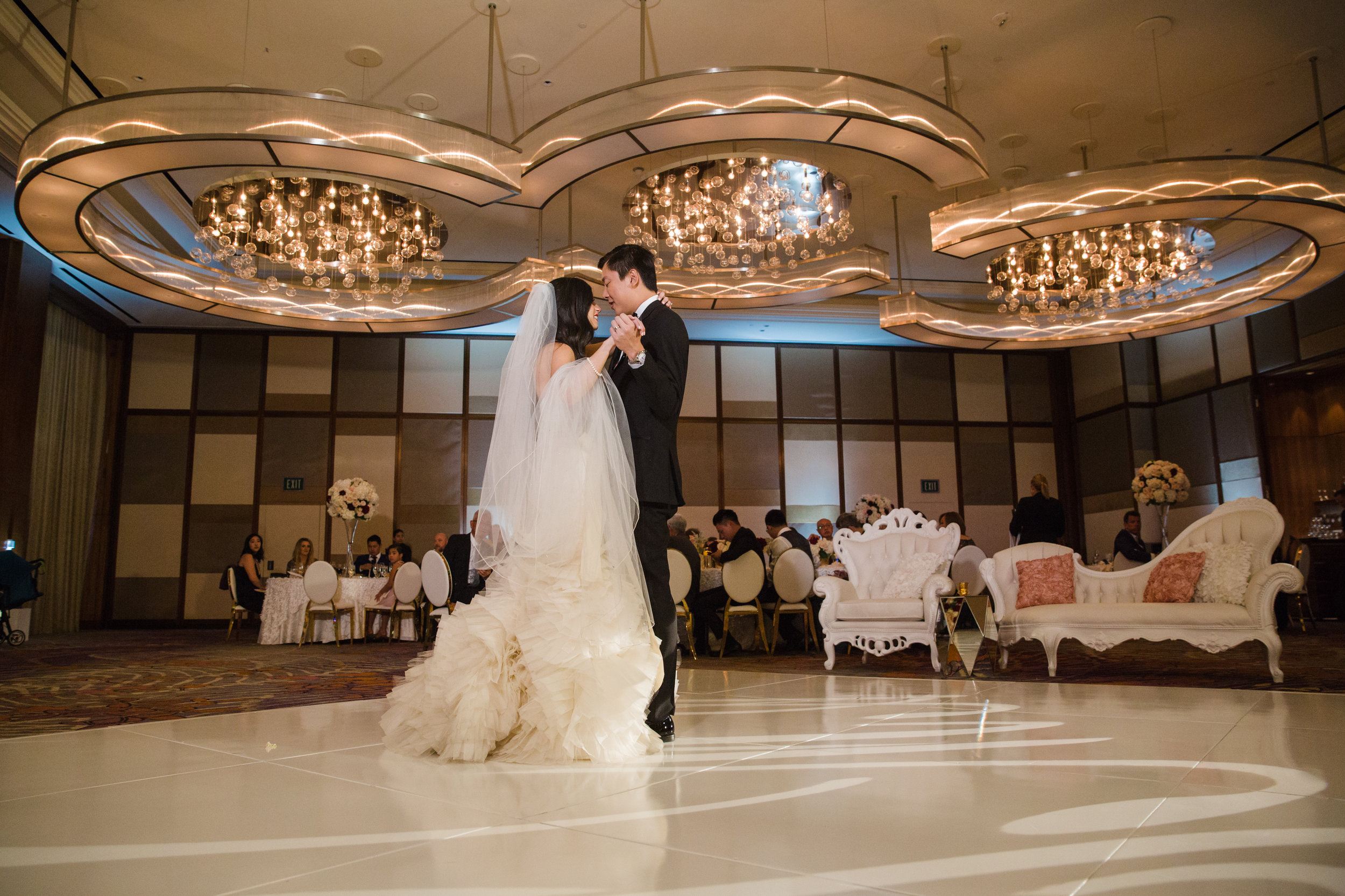 First Dance at the Mandarin Oriental.http://www.andreaeppolitoevents.com