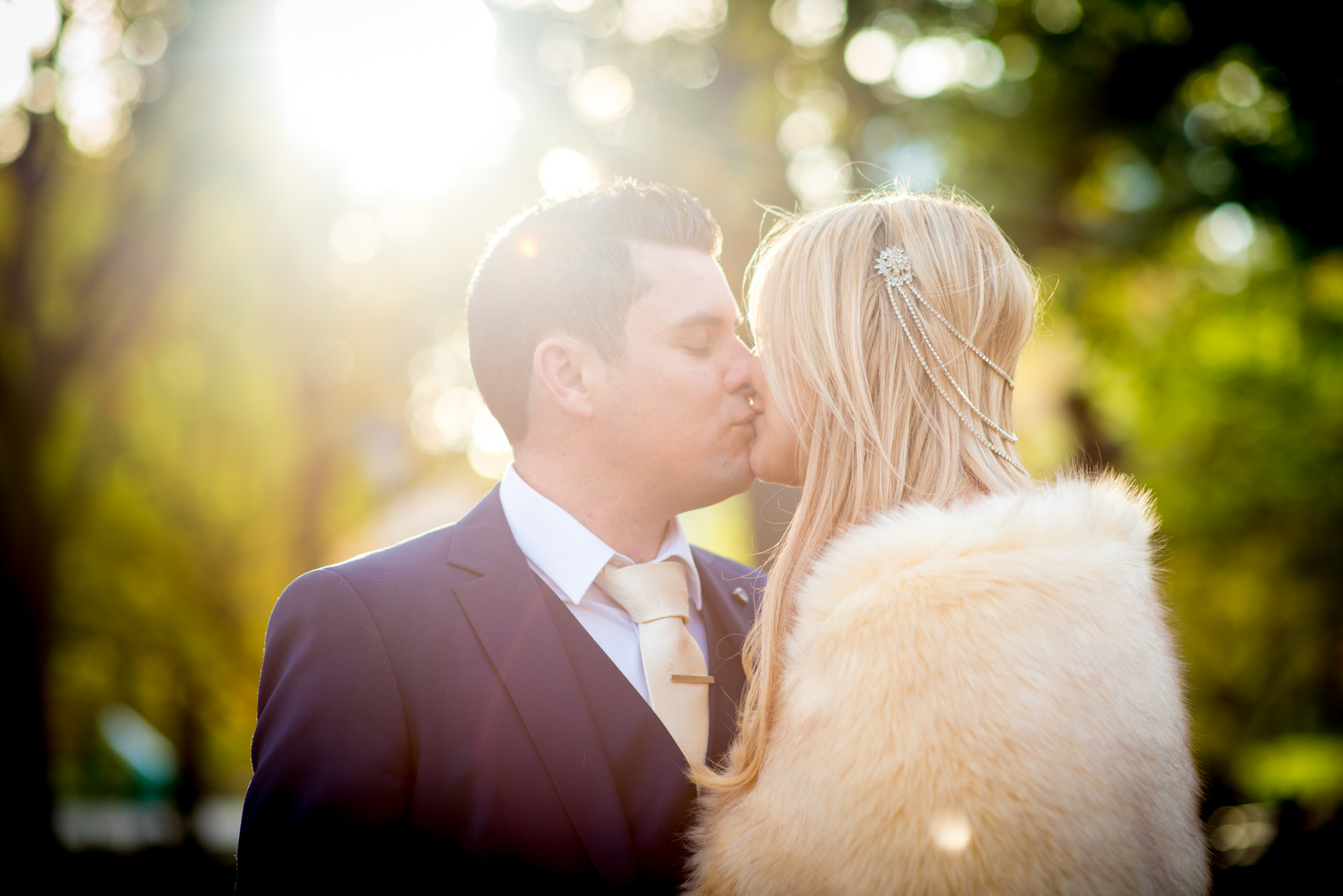 Intimate Couple's Portrait by Brian Friedman Photography.