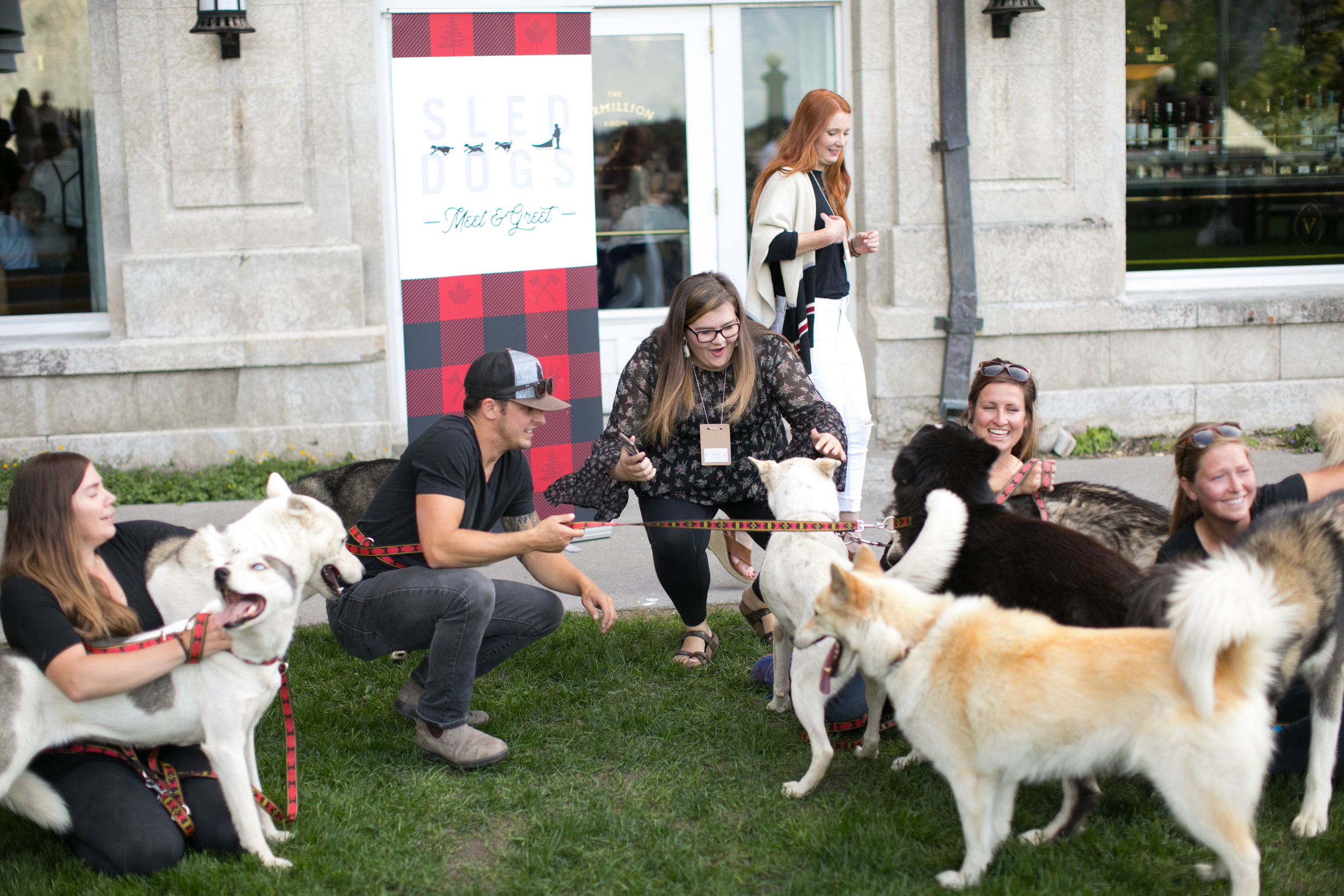 Doggie Meet & Greet.  Because our people love animals.  Photo by Paul Morse.
